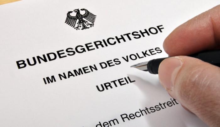 Urteil Bundesgerichtshof