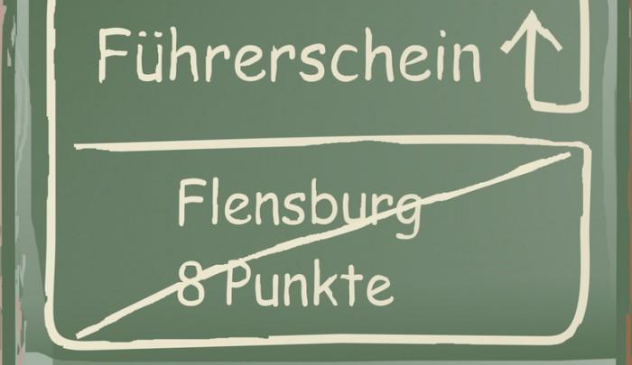 Fhrerschein, Flensburg